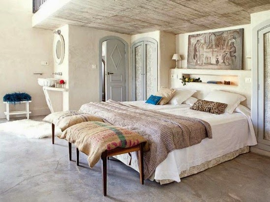 dormitorio vintage
