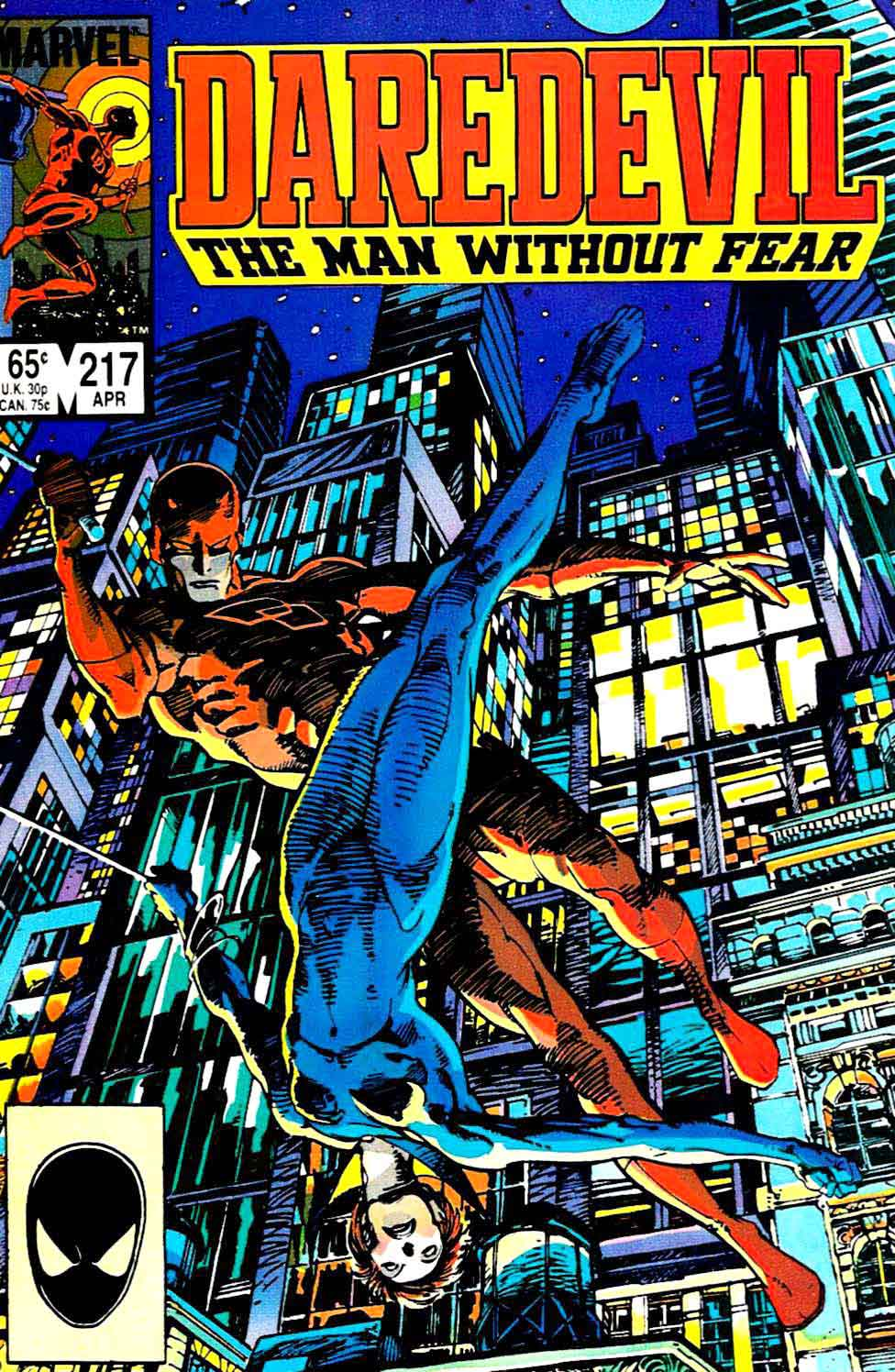 Marvel Comic Book Cover Art : Daredevil barry windsor smith cover pencil ink