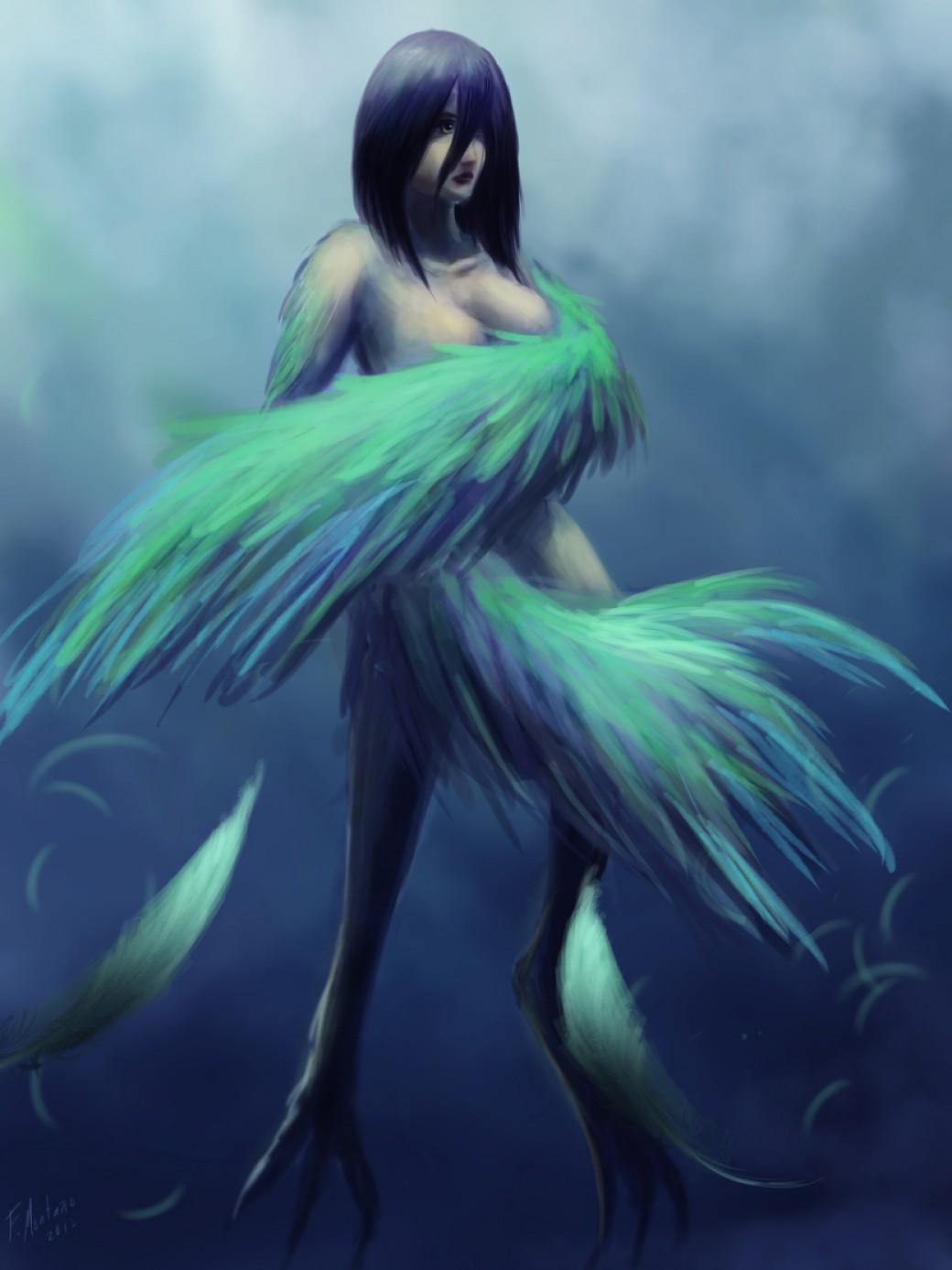 Harpy por Raikoh-illust