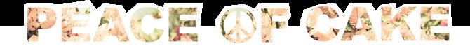 PEACE ☮F CAKE