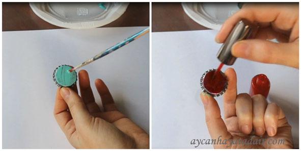 Gazoz Kapaklarından Magnet Nasıl Yapılır?