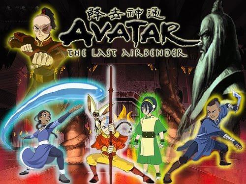 Avatar : A lenda de Aang 1 2 3 4 5