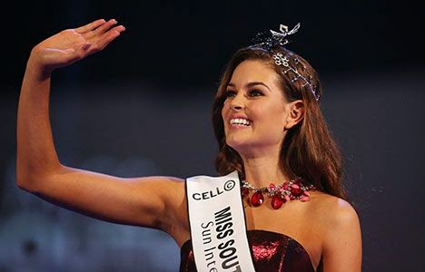 Miss South Africa 2014 winner Rolene Strauss