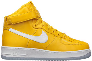 mens nike air force 1 high yellow