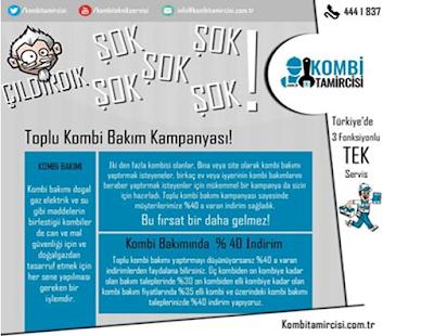 Kombitamircisi.com.tr den Kombi Servisi Talep Edenler Kazanıyor