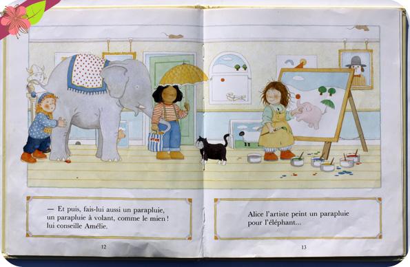 """""""Alice l'Artiste"""" de Martin Waddell et Jonathan Langley"""