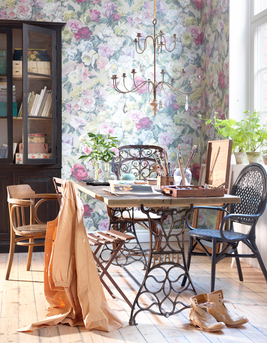 Home Decorista French bohemian vintage