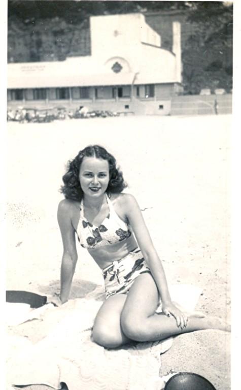 vintage beach fun