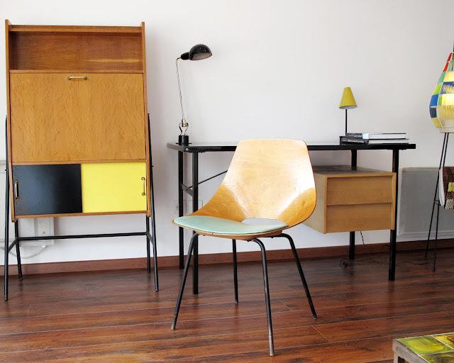 Tonneau Chairs von Pierre Guariche 1954 - Vintage Möbelstücke mit steigendem Wert
