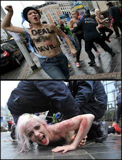 FEMEN mahu putin di humban ke neraka