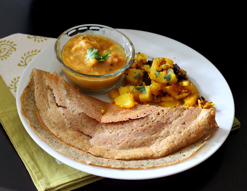 Dosa - Lentil and rice savory Crepes. Vegan Glutenfree - Vegan Richa