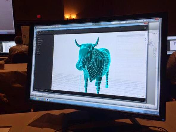 A moment of silence – The Revit Cow is going into Retirement