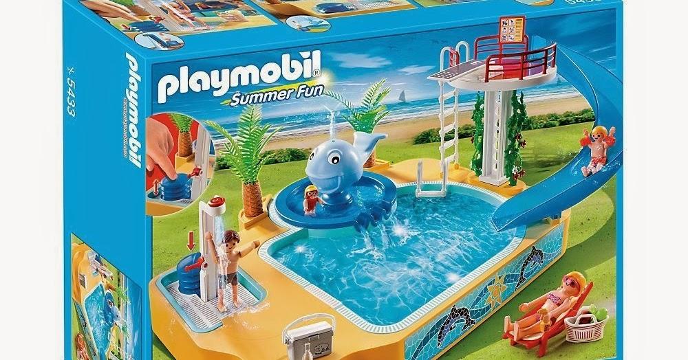 Libros y juguetes 1demagiaxfa toys playmobil summer for Juguetes de piscina