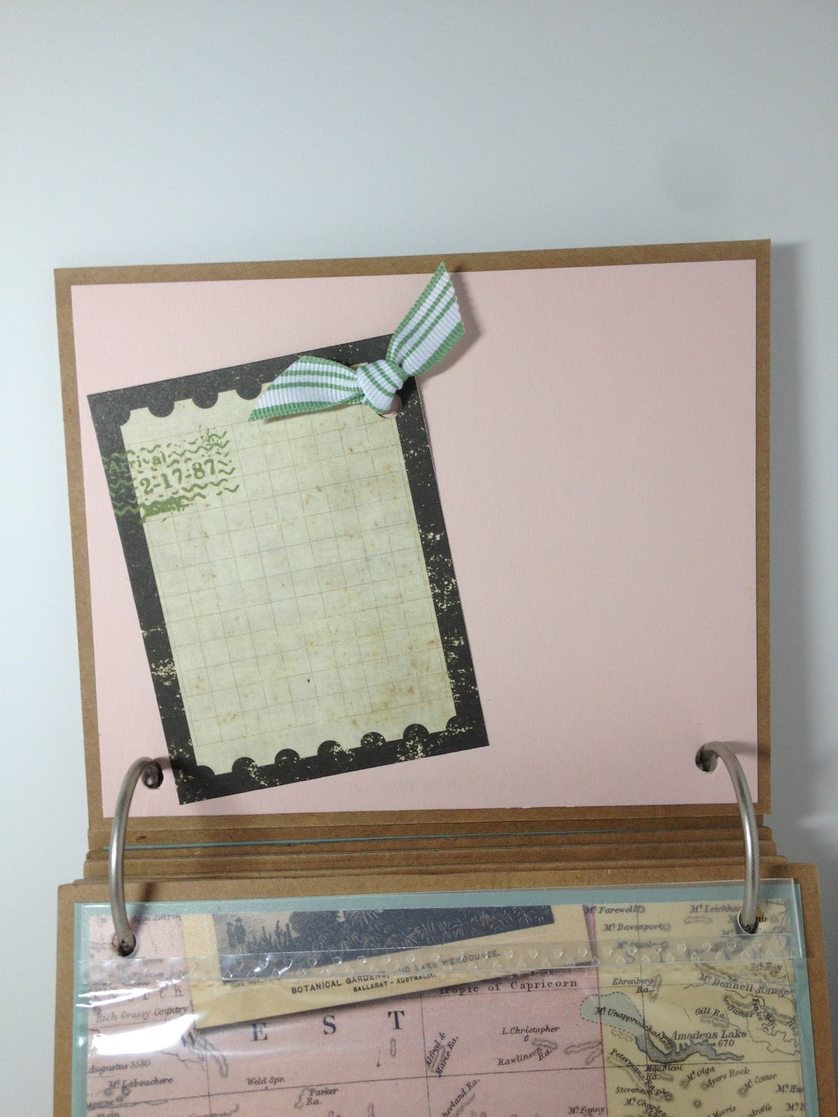 Scrapbook paper australia -  Each Page Is A Card Stock From Stampin Up I Love Keeping Stock Of All Their Colors As They Are Always Trendy And Match Just About Every Designer Paper