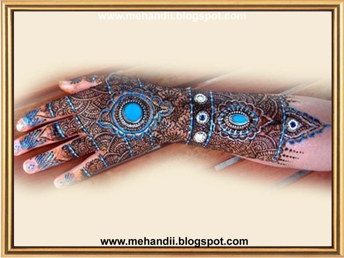 MEHNDI DESIGN Glitter Mehandi Henna Design Part 3