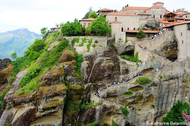 Great Meteoron Monastery Steps Central Greece Attractions