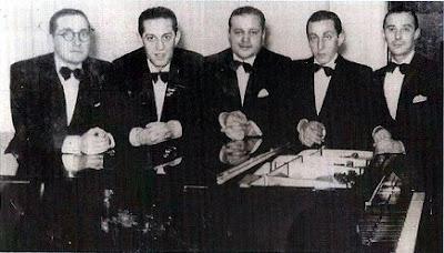 C.Marucci Bandoneon, F. De Caro piano, C.Ortiz bandoneon, Julio De Caro y Elvino Vardaro violin(1937 height=