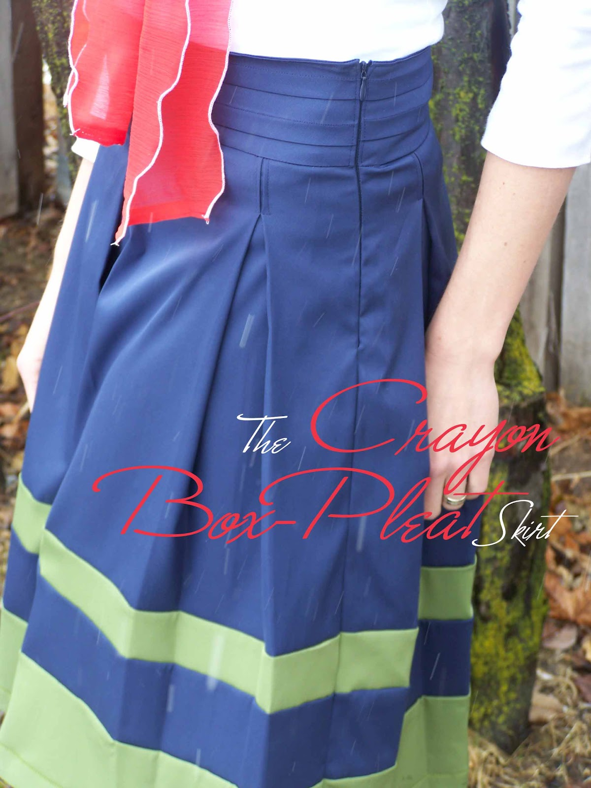 Made by Me. Shared with you.: The Crayon Box Pleat Skirt: Tutorial ...