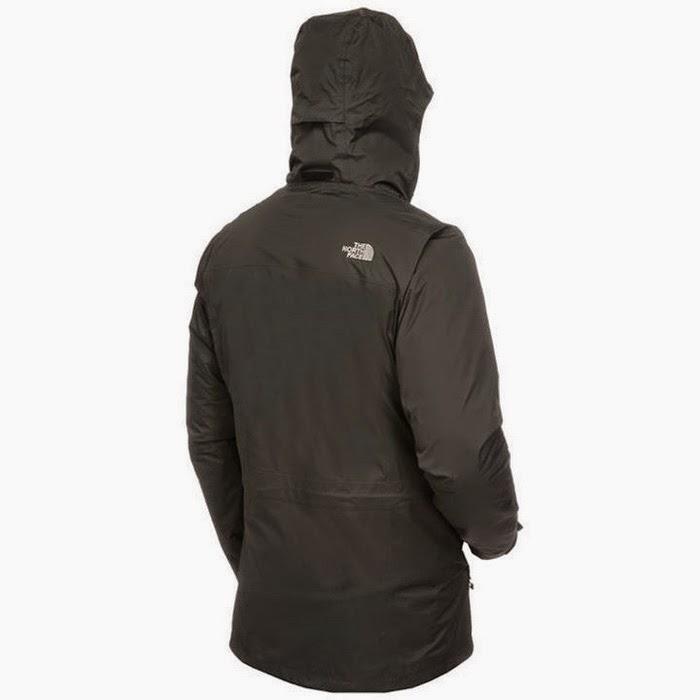 Jaket gunung TNF Triton Triclimate