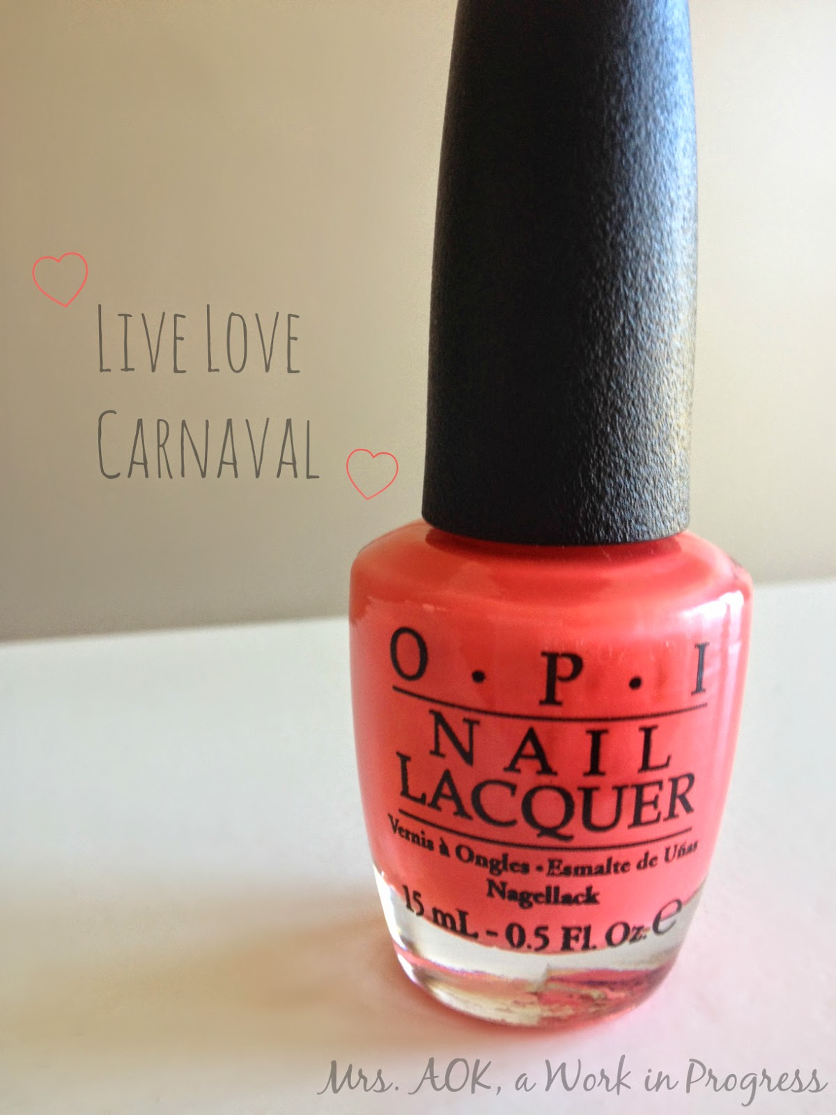 OPI Live Love Carnaval #SpringPolishSwap Reveal AOK