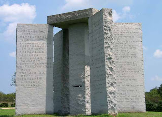 georgia guidestones - mysterious monument