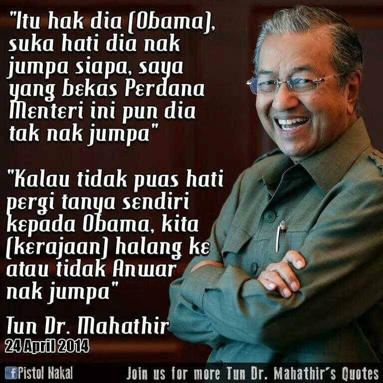 Anwar tak payah berangan nak jumpa Obama | The Unspinners