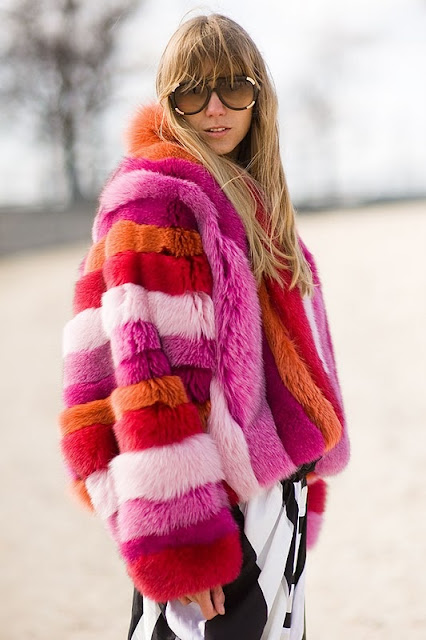 bright coat inspo