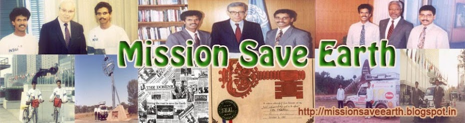Mission Save Earth