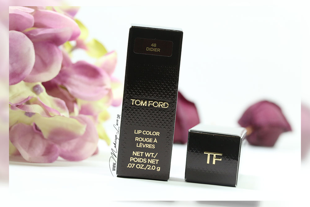 Tom Ford Lips & Boys Didier Alejandro Lippenstift Review Swatch