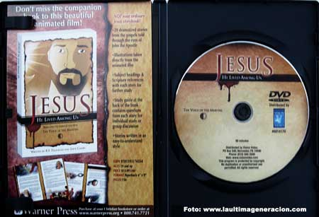 DVD Jesús vivió entre nosotros