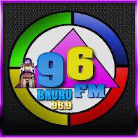ouvir a radio 96 fm 96,9 ao vivo  Bauru SP