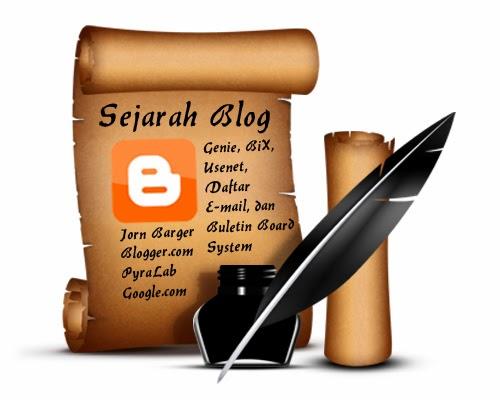 sejarah dan awal mula blog