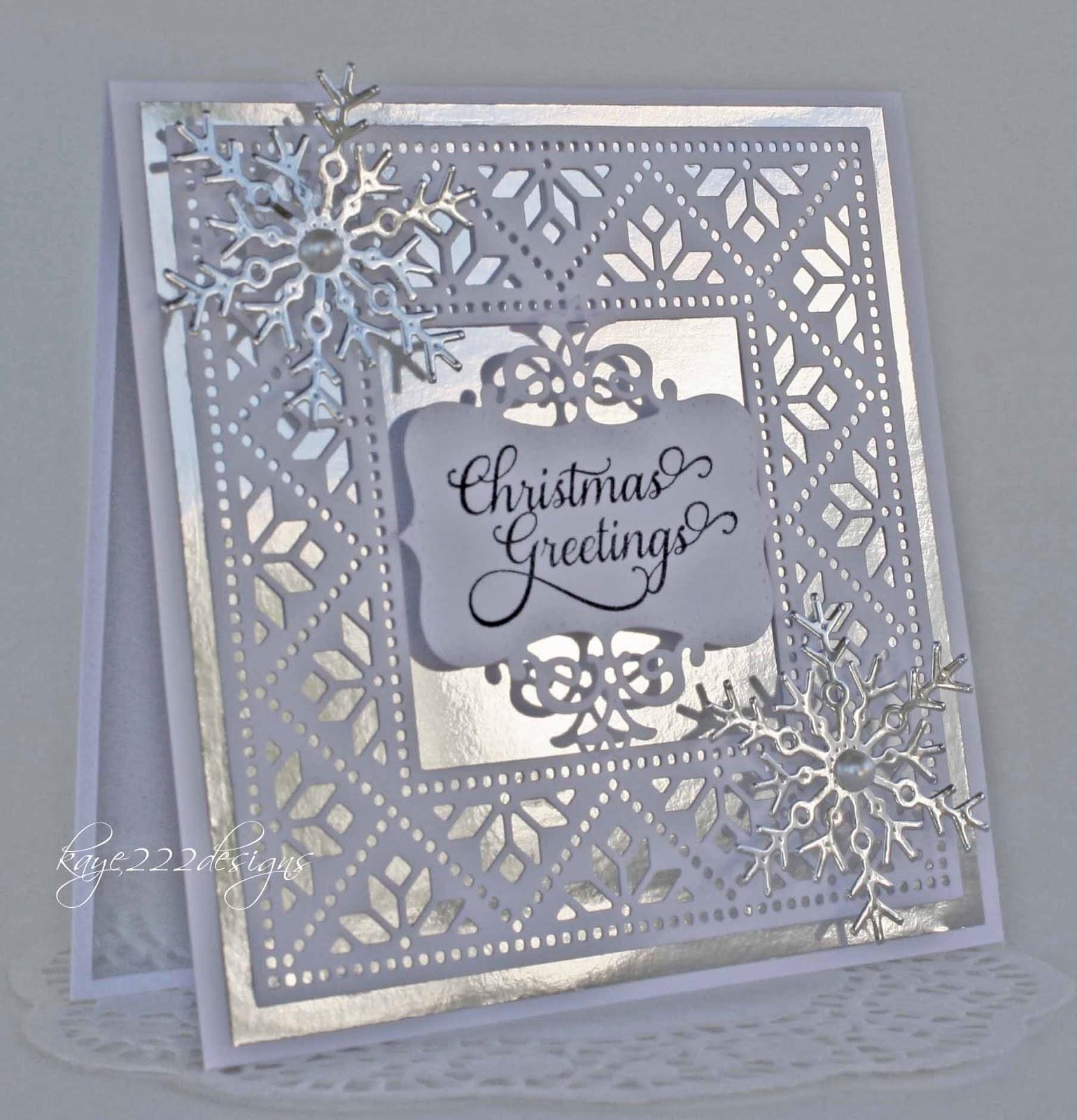 Beyond Beauty Christmas Greetings With Cheery Lynn Designs
