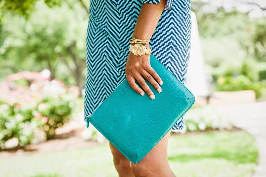 Leah Frazier Dallas Fashion Blogger Beauty4Ashes Susu Handbags Ellie Kai Caravelle New York Watch