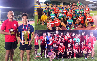 Results of the SRU-SCNRA U18 Inter-Tertiary 15 A Side Tournament 2015