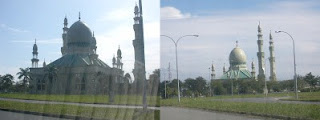Largest mosque in Kuala Belait town