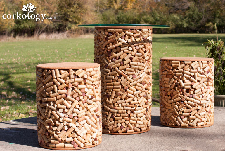 how to recycle recycled wine cork