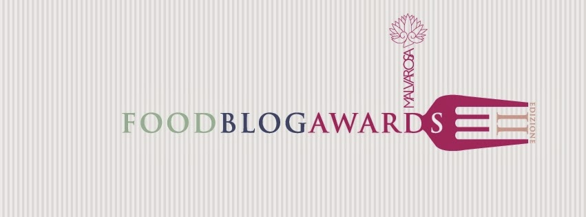 Partecipo al Food Blog Awards 2014