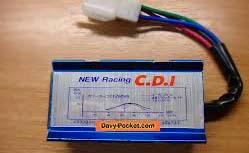 modifikasi mio bagian pengapian CDI agar lebih kencang