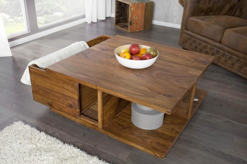dreveny nabytok z masivneho dreva do obyvacky, obyvackove stoliky z dreva