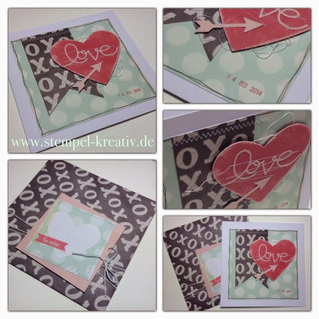 Love notes - Valentinskarte