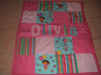 Dora and Boots Quilt