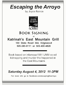 Book signing at East Mountain Grill