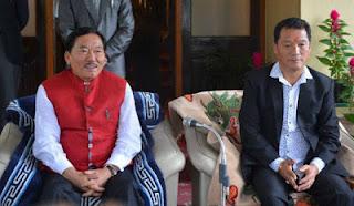 Pawan Chamling with Bimal Gurung