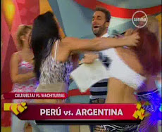 ESCANDALO EN TV PERUANA