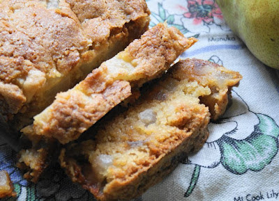 Easy Ginger And Pear Loaf Recipe And Photo: Lucy Corry/The Kitchenmaid