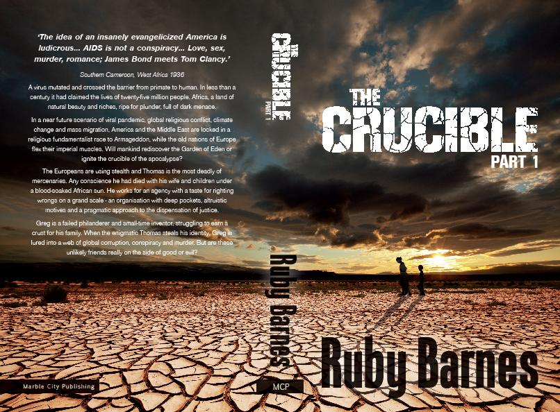 The Crucible by Ruby Barnes paperback edition