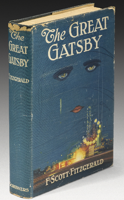 Image result for the great gatsby art first cover