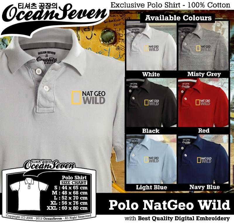 Kaos Polo NatGeo Wild
