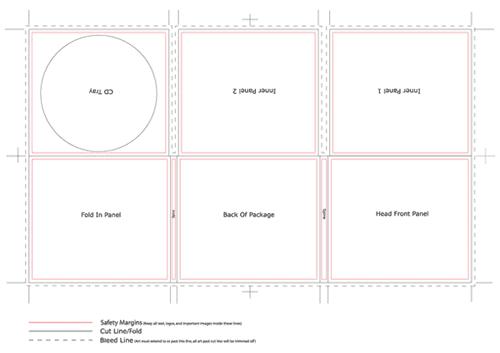 cd dimensions template - ben carey